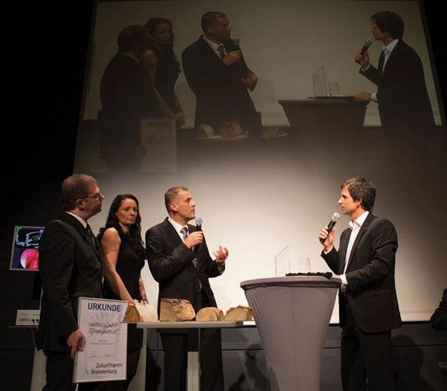 Die Ofenexperten im Interview mit Moderator Uwe Madel