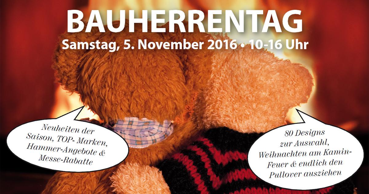 Bauherrentag bei Ofenexperte.de am 5. November 2016