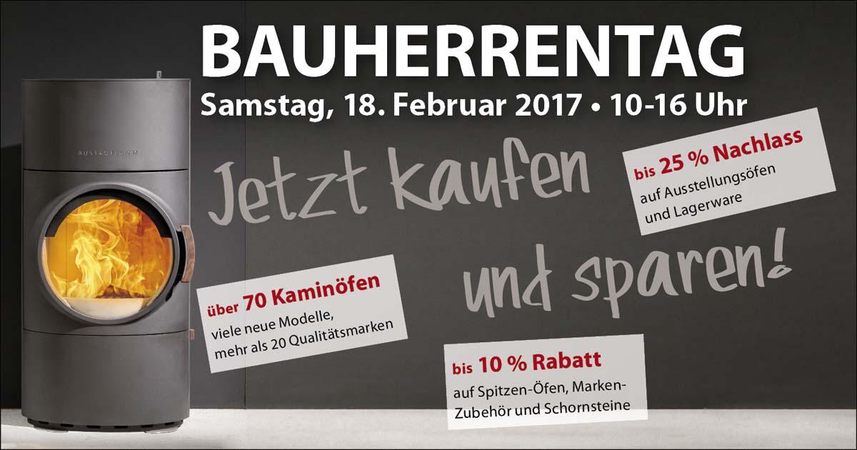 Bauherrentag bei Ofenexperte.de am 18. Februar 2017