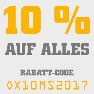 10 Prozent Rabatt für unsere Kunden