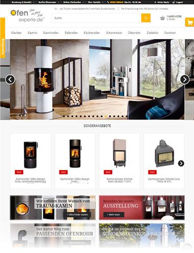 Neuer Shop von Ofenexperte.de