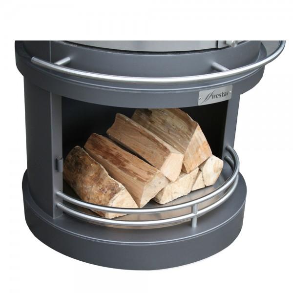 Firestar Schutzblech für Holzlagerung, DN 700