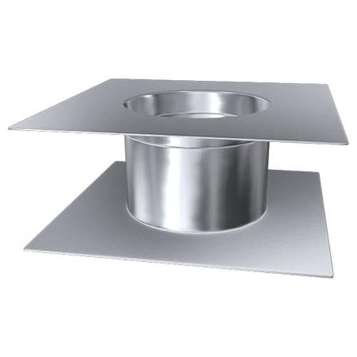Deckendurchführung, Edelstahl, ø 225 mm (305 mm)