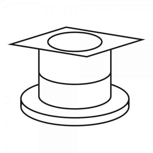 CERA Design Zuluftglocke (Set mit Adapter), Kaminofen Solitherm und Rondotherm
