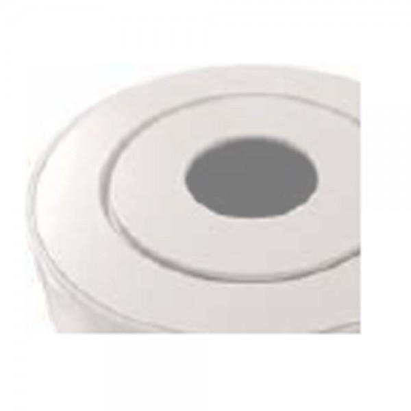 Guss-Deckplatte, weiß emailliert für LEDA COLONA lite