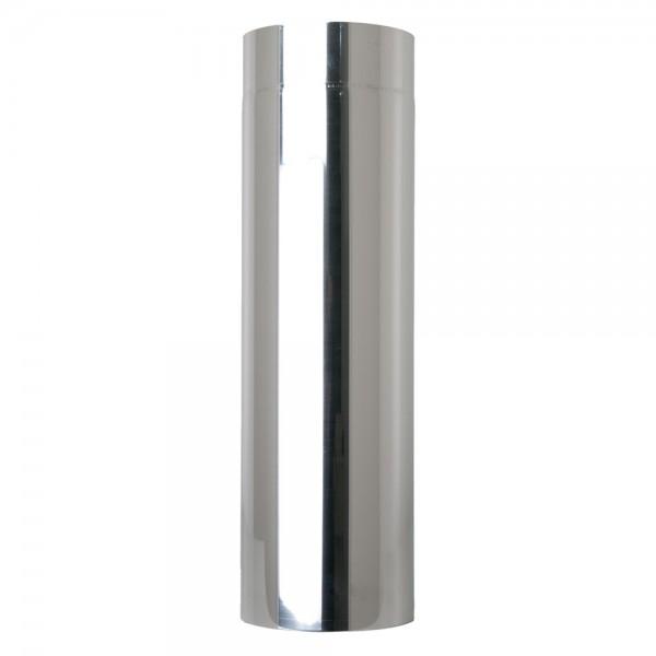 Ofenrohr, Edelstahl, zylindrisch, eingezogen, 150/250 mm