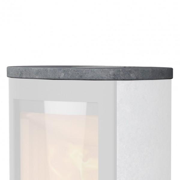Abdeckplatte Speckstein, für Kaminofen Lotus Jubilee 35 mit Stahlverkleidung