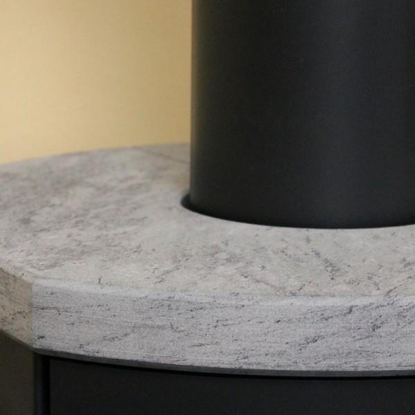 Topplatte NatStone sandgestrahlt für viele DROOFF Kaminöfen