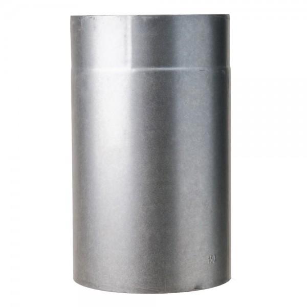 Rohr, zylindrisch, eingezogen, gefalzt, 110/250 mm