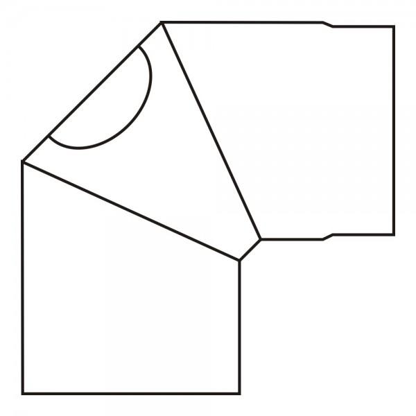 Olsberg Ofenrohr-Bogen für Abgasanschluss hinten für Palena PowerBlock!, Fuego Magno
