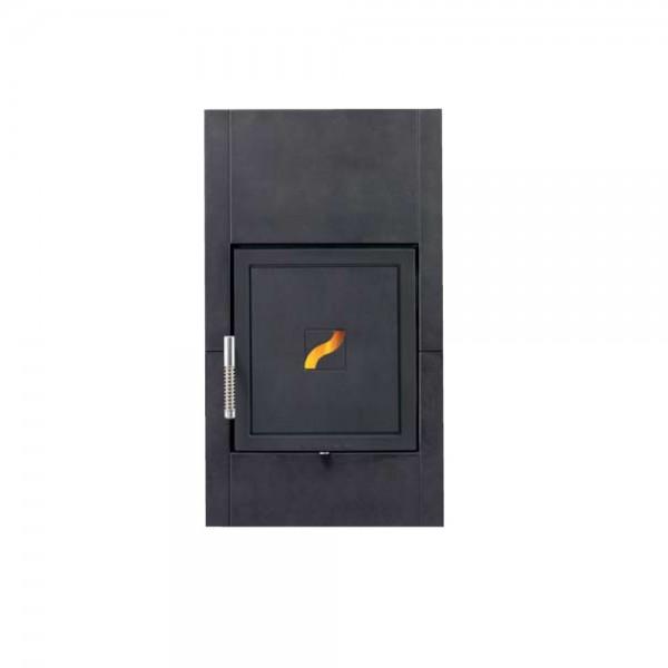 Guss-Feuertüreinlage Leda Brillant