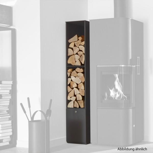 CERA Design Regal Byblos+, Grau, seitlicher Abgang