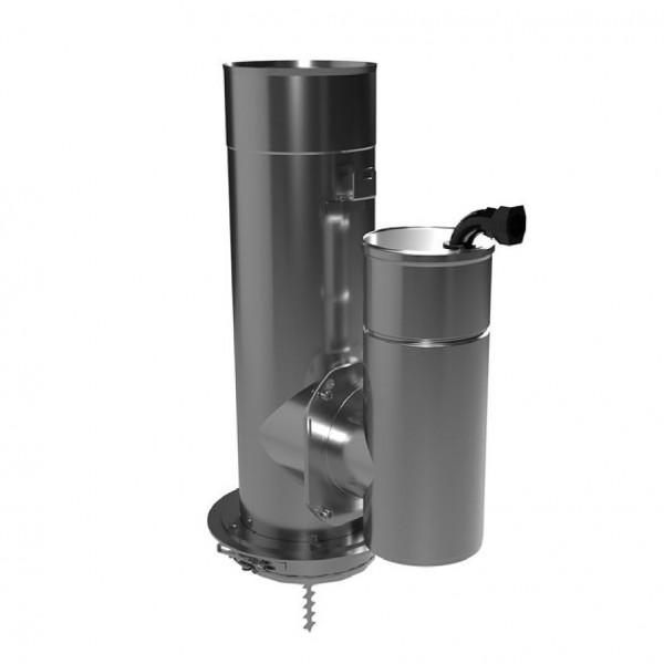 Feinstaubpartikelabscheider Airjekt 1 Outdoor Top zur Montage an der Schornsteinmündung