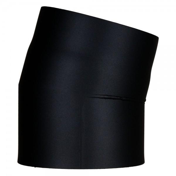 Ofenrohr-Bogen 15°, doppelwandig mit Dämmung, System Primus, 130 mm