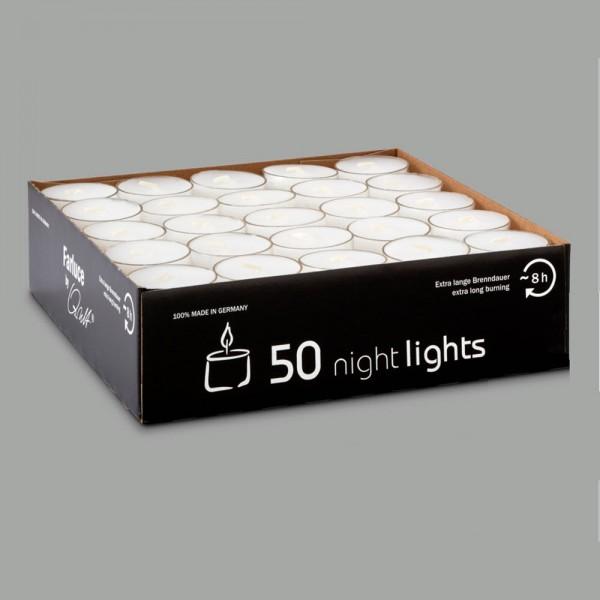 """FARLUCE Qualitäts-Teelicht mit Clearcup """"nightlights"""""""