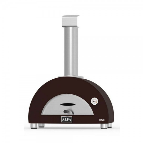 Alfa Forni Pizzaofen One mit Gasbefeuerung, Kupfer