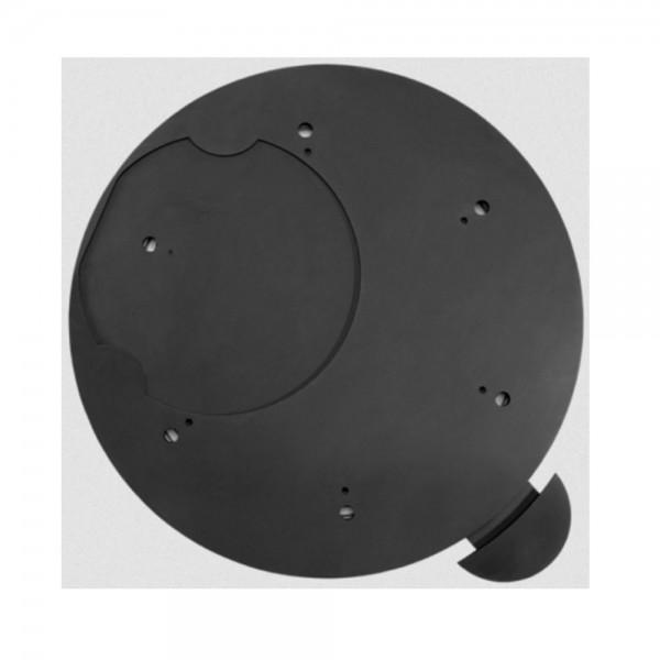 ORANIER Dreh-Tableau mit Arretierung Ø 510 mm, Schwarz oder Gussgrau