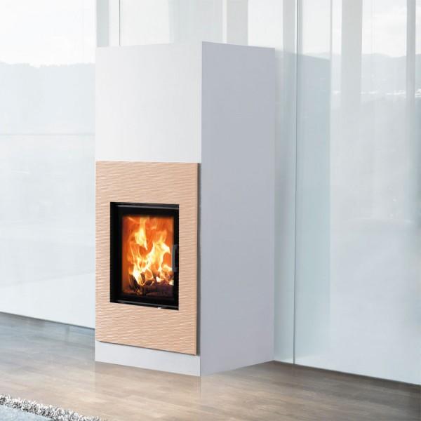 AUSTROFLAMM Keramik Sandstein mittel ohne Holzlagerfach, für Design-Kamin Kera Xtra 45