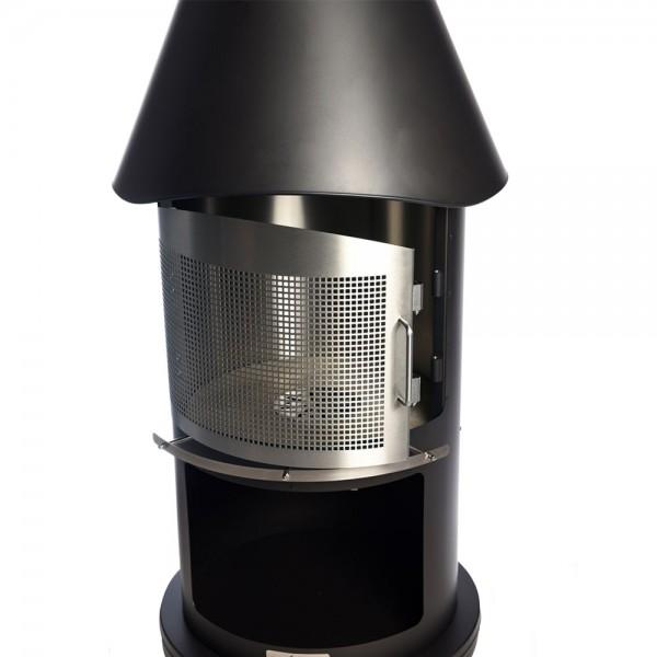 Firestar Funkenschutztür, 1-teilig schwenkbar für DN 650