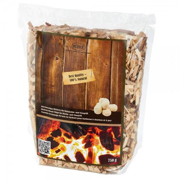 RÖSLE Räucherchips Hickory 750g (1 kg = 10,60 €)