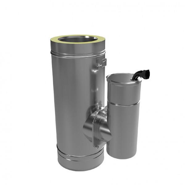 Feinstaubpartikelabscheider Airjekt 1 Outdoor DW zur Montage im doppelwandigen Schornsteinsystem, pa