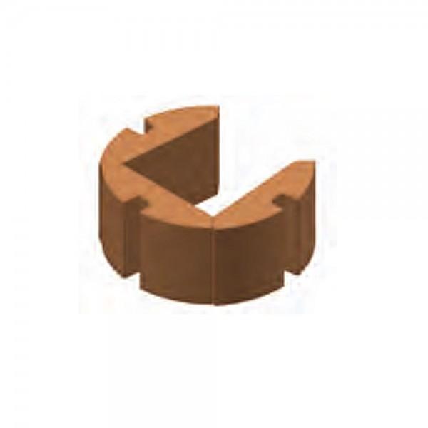 Koppe Speichersteine (3 Stück) + U-Blech für Kaminofen Nexus XL