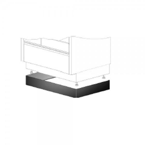Tyrola verstellbare Sockelblende 850 - 900 mm für Holzherd