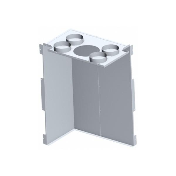 Konvektionsluft-Verkleidung für Kamineinsatz KLR