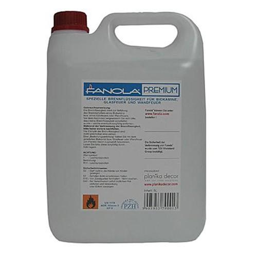 Bioethanol-Brennstoff Fanola® Premium, 5 Liter (1 Liter = 3,20 €)