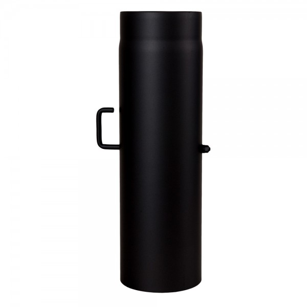 Ofenrohr, Rauchrohr, Drosselklappe, Senotherm, 130 x 500 mm