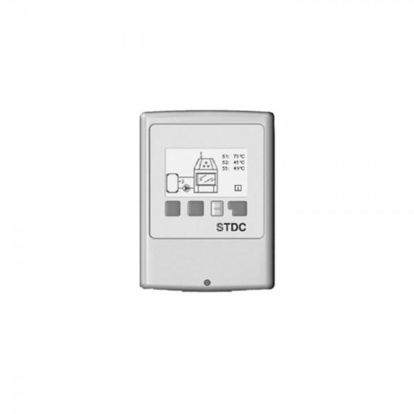 DROOFF Temperatur - Differenzregler für wasserführende Kaminöfen