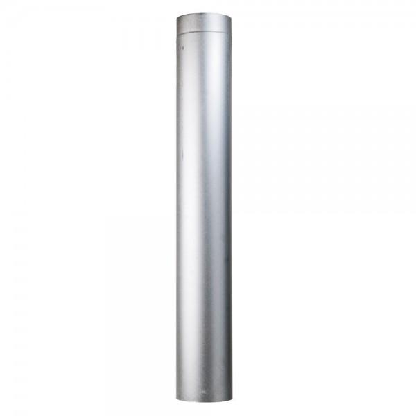 Rohr, zylindrisch, eingezogen, gefalzt, 150/750 mm