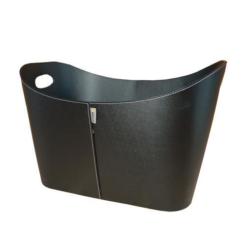 Lienbacher Kunstlederkorb, schwarz