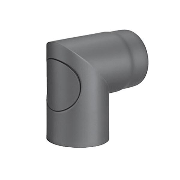 Olsberg Ofenrohr-Bogen für Abgasanschluss hinten für Alegre PowerBloc! Compact