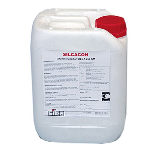 SILCACON Grundierung, PE-Kanister a 5 Liter (1 l = 9,99 €)