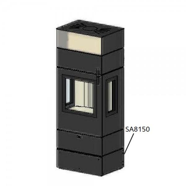 CERA Design Sockelelement Unterbau inkl. Schublade zu Kaminofen Santos 630