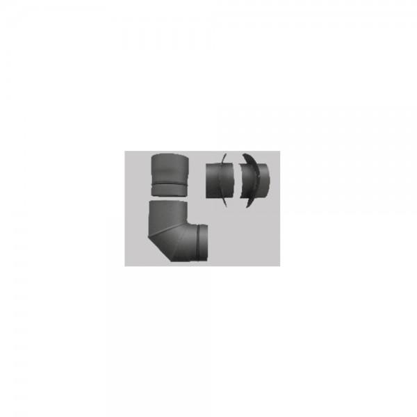 wodtke Anschluss-Set AS 01, Verbrennungsluftanschluss für drehbare Kaminöfen