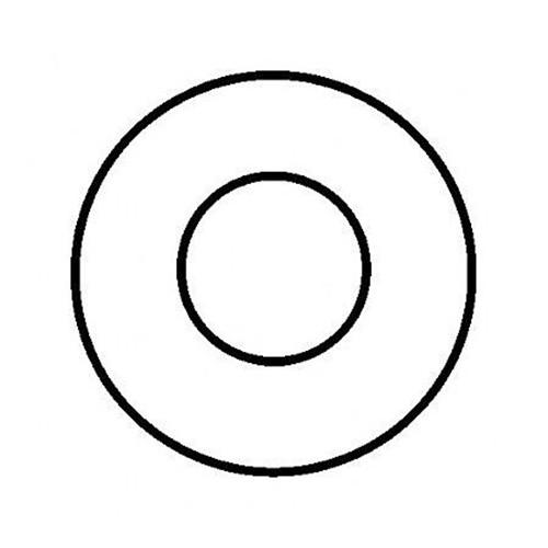 Rosette, starr, FAL, ø 130 mm