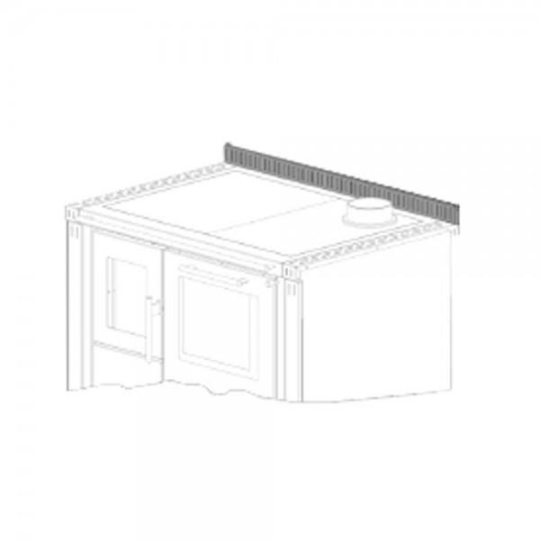 Tyrola Plattenwinkel hinten mit beidseitiger Verlängerung