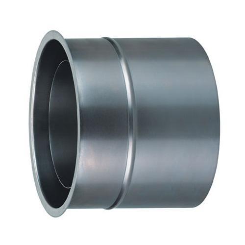 Möck Primus 130 mm   Bogen 15° ohne Tür doppelwandig gedämmt schwarz metallic