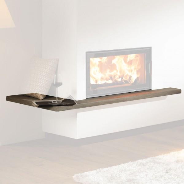 AUSTROFLAMM Feuertisch links, für Design-Kamin Miu Xtra 75