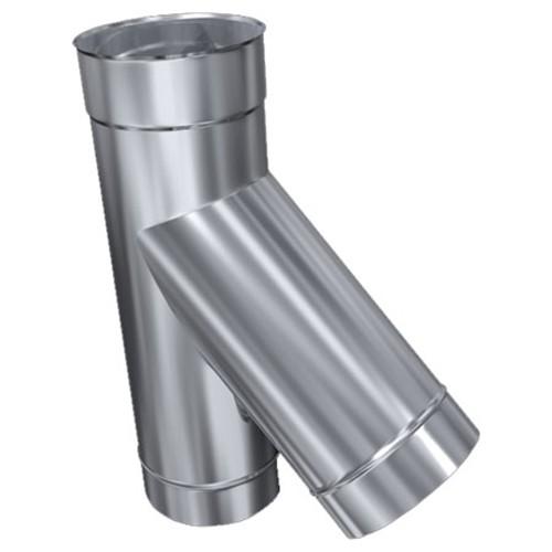 Feuerungsanschluss, 45° mit Reduzierung von 160 mm auf 150 mm