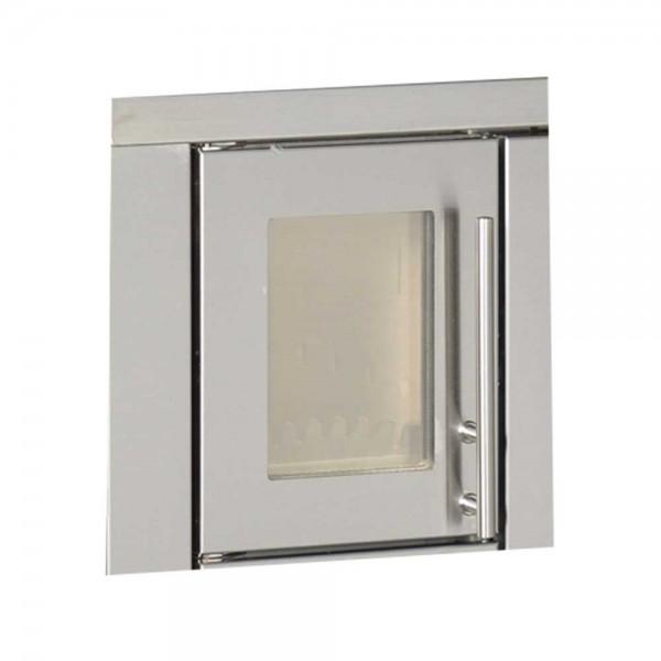Heiztür mit Sichtfenster für Holzherd