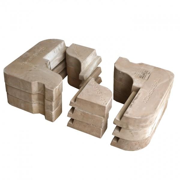 """CERA Design Speichersteine """"Power Stone"""" für Kaminofen Byblos+"""