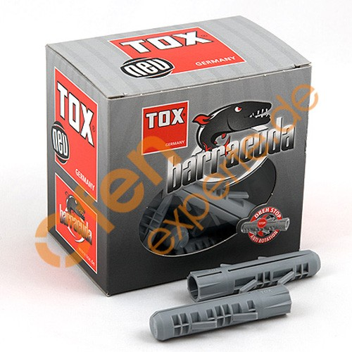 "TOX Spreizdübel SD 12/60 ""BARRACUDA"" - 25 Stück/Karton"