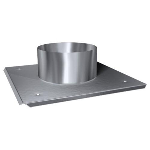 Schachtabdeckung mit Hinterlüftung, ø 150 mm