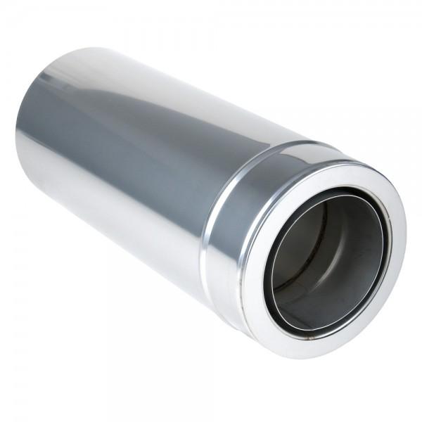 Rohr 1000 mm kürzbar mit integriertem Doppelwandfutter