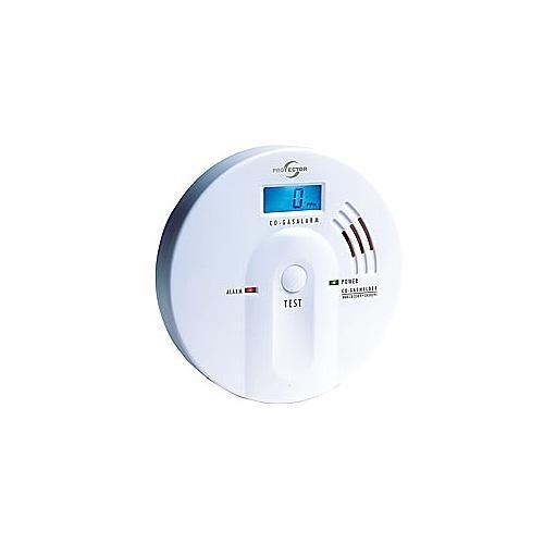 Kohlenmonoxid (CO)-Gasmelder mit FIGARO-Sensor und beleuchtetem LC-Display