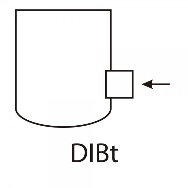 CERA Design DIBT-Zulassung inklusive Zuluftstutzen, dn 100 mm, Kaminofen Divino Due, Divino Tre und