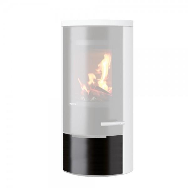 DROOFF Holzfachblende mit Glasdekor, APRICA 2 Trend